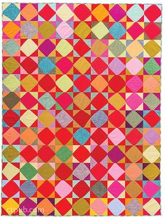 Project from Cultural Fusion Quilts: A Melting Pot of Piecing Traditions • 15 Free-Form Block Projects by Sujata Shah #CulturalFusionQuilts