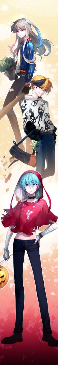 Webtoon 웹툰 안즈(anz) Helloween