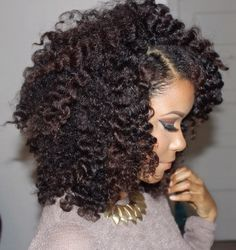 Short Kinky Curly Human Hair Wig Afro Kinky Curl Wigs for Black Women Natural Looking Real Human Hair Wigs (Black) Natural Hair Inspiration, Natural Hair Tips, Natural Hair Styles, Natural Curls, Natural Waves, Going Natural, Curly Nikki, Big Hair, Gorgeous Hair