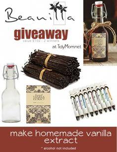 Beanilla Vanilla Giveaway at TidyMom