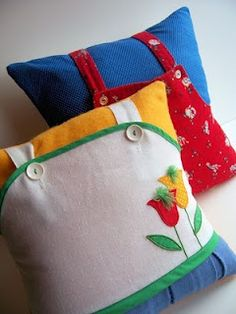 C. Dianne Zweig - Kitsch 'n Stuff: Colorful Playful Handmade Children's Pillows Made From Re-Cycled Clothing