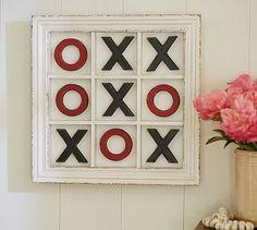 Valentine's Day XOXO Wall Art #potterybarn