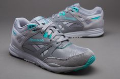 ae0cd2e7f56 Reebok Ventilator - Flat Grey Steel White Emerald Sea Black
