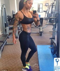 Is strong the new sexy?  Meet the 'fitness chicks' with huge male followings on Instagram