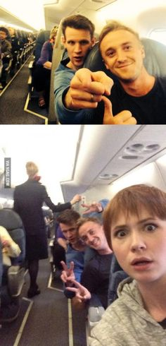 What's better than having Draco and Doctor on board? >>> I cant even.