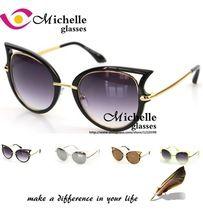 New High quality cat eye Sunglasses brand women Hollow out vintage eyewear sexy sun glasses for ladies oculos de sol feminino(China (Mainland))