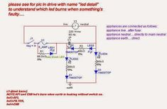 AC Phase, Neutral, Earth Fault Indicator Circuit | Homemade Circuit Projects