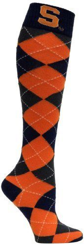 Preppy Syracuse University Orange Argyle Dress Socks #PreppySyracuse