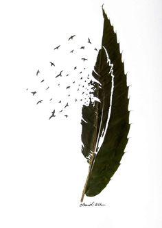 delicate leaf art by omid asadi 8