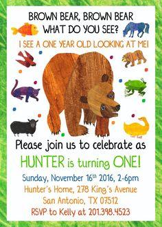 46 best brown bear birthday images brown bear birthday bear party rh pinterest com