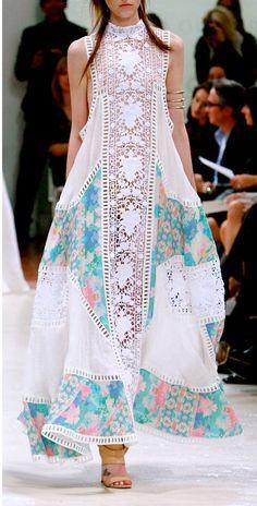 Looks like Pakistani Fashion !