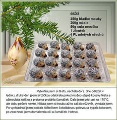 Christmas Sweets, Christmas Candy, Czech Recipes, Candy Recipes, Ale, Czech Food, Christmas Treats, Ale Beer, Christmas Desserts