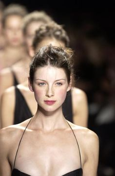 Caitriona Balfe for Narciso Rodriguez