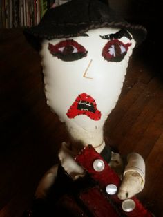 the tiger lillies Martyn Jaques doll by by KookTeflonJumpSturdy, $180.00