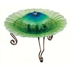 Regal Art's Sea Foam Fountain looks like it belongs under the ocean. Made of art glass and metal legs, pump included. Fountains Of Wayne, Fountains For Sale, Indoor Water Fountains, Tabletop Fountain, Under The Ocean, Sea Foam, Lawn And Garden, Outdoor Gardens, Toddler Girl