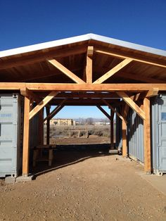 Shipping Container 67468 Vista Grande High School in Taos, New Mexico contracted us to design and build an outdoor workshop and greenhouse with two shipping containers. Here is what we came up with that fit the budget.