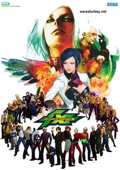 The King Of Fighters Serisi Full Portable Tek Link
