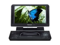 "NEW PANASONIC DVD Player Multi Region Code Free Portable DVD Player. DVD Region 012345678 PAL/NTSC 100~240V 50/60Hz 11 Hour Long Lasting Battery, DIVX, MP3, JPEG, USB by Panasonic. $249.60. Pure entertainment on the go! Enjoy your movies anytime, anyplace! region code free DVD player features 9"" TFT LCD screen for your great viewing experience. You can indulge in up to 11 hours of DVD/DivX®/MPEG movies, MP3-CD/CD music and JPEG photos on the go PANASONIC HIGH RESOLUTION REG..."