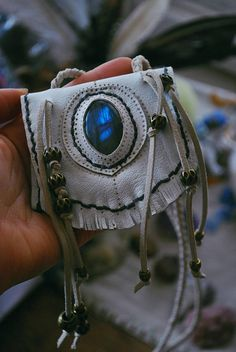 Leather Jewelry, Leather Craft, Native American Medicine Bag, Boho Bags, Leather Pouch, Mini Bag, Cuff Bracelets, Fashion Accessories, Psychic Abilities