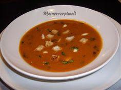 Tomatencreme suppe,Tomatensuppe,domates corbasi,meinerezepte,meinerezeptwelt