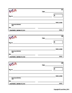 3 pretend checks great for practicing standard form and word form of numbers. Standard Form, Common Core Math, Economics, Real Life, Words, Finance, Horse