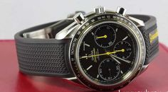 Offre d'une Omega Speedmaster Racing: 3.040€ Omega SPEEDMASTER RACING Chronograph Co-Axial 40MM -Black Rubber, Référence 326.32.40.50.06.001-SPEEDMASTER DA CORSA Cronografo Co-axial; Acier; Remontage automa Omega Speedmaster Co Axial, Black Rubber, Omega Watch, Chronograph, Men, Accessories, Wristwatches, Steel, Ornament