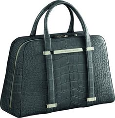 Porsche Design TwinBag – One Design – Two Styles Porsche Design, One Design, Leather Material, Beautiful Bags, Crocodile, Louis Vuitton Damier, Gym Bag, Handbags, Purses