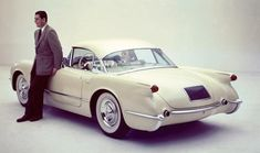 1954 Corvette Hardtop Coupe show car built for the GM Motorama