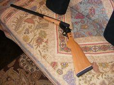 Building a simple break barrel shotgun from scratch - Best Love Pics, Homemade Shotgun, Derringer Pistol, Homemade Bows, Rubber Band Gun, Bullet Pen, Survival Tools, Homestead Survival, Homemade Weapons