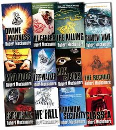 Cherub Series Collection Pack Robert Muchamore 12 Books Set   books not in series order