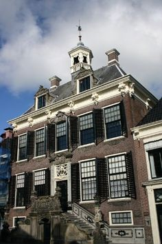 City Hall, Sneek, Friesland, Netherlands.