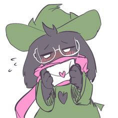 Ralsei by @qha20 Comic Pictures, Cute Pictures, Chara, Fox Games, Cute Goats, A Hat In Time, Toby Fox, Cute Images, Cute Art