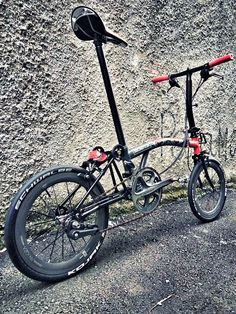 Foldable Bicycle, Folding Bicycle, Touring Bike, Brompton, Bicycle Accessories, Bike Design, Bicycling, Road Bikes, Triathlon