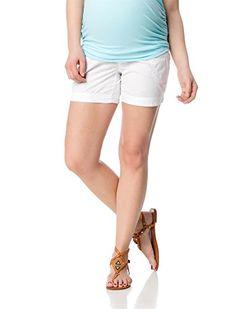 Secret fit belly cargo pockets maternity shorts available at Destination Maternity Maternity Shorts, Maternity Fashion, Bikini For Women, Poplin, White Shorts, Casual Shorts, Clothes For Women, Fitness, Bebe