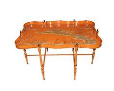 Painted Tole Table From East & Orient Company