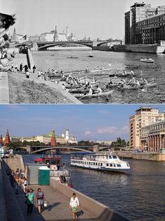 Moscow then and now – in pictures | World news | The Guardian Then And Now Pictures, North Asia, Back In The Ussr, Russian Architecture, Old City, Eastern Europe, World History, The Guardian, Moscow