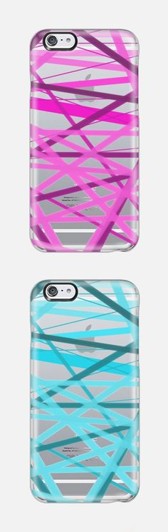 Casetify iPhone 6 Case - Razzle Dazzle Lines - Transparent/Clear Background by Lisa Argyropoulos Cool Iphone 6 Cases, Cool Cases, Iphone 6 Plus Case, Cute Phone Cases, Macbook Case, Mobile Cases, Iphone Accessories, Ipad Case, Samsung Cases