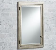"""STUDIO MIRROR/MED CABINET - $299 - REG SIZE 17""""W 26.75""""H Clermont Recessed Medicine Cabinet 