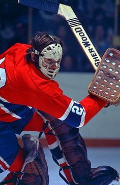 Ken Dryden Canadiens de Montréal Go Habs Go !!