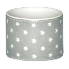 GreenGate Stoneware Napkin Ring Star Warm Grey D 4,3 cm | NEW! GreenGate Autumn/Winter 2014 | Originated-Shop
