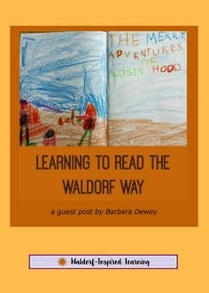 Learning to Read the Waldorf Way, a guest post by Barbara Dewey, that describes the Waldorf approach of starting with stories, drawing, writing and then reading. Creating a language-rich environment is the key. Read more here. Home Learning, Play Based Learning, Toddler Learning, Waldorf Preschool, Middle School Writing, Waldorf Education, Physical Education, Inspired Learning, School Fun