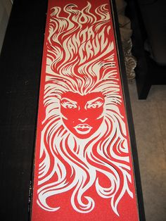 Sun Goddess, grip tape leftovers
