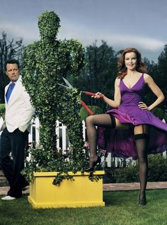Desperate Housewives - Marcia Cross and Steven Culp by Mark Seliger.