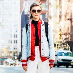 ミリタリー派? それともデニム派? NYのストリートジャケット対決。|ファッション(流行・モード)|VOGUE JAPAN