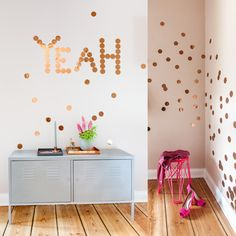 Inspired! Confetti Wall