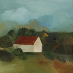 Maureen Gallace , b. 1960 Untitled oil on canvas