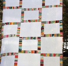 Yes, please! I need to do this with the rest of my scraps from my wonderful scrap quilt! :))