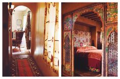 Welcome to the Inn of Five Graces   Free People Blog #freepeople. Would love to have a room like this!