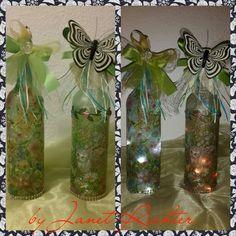 Flaschenlampen - Leuchtflaschen