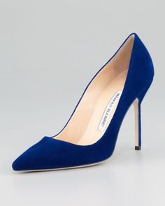 Made to Order Blahnik's. This is a match made in heaven.   Thank you Neiman Marcus.